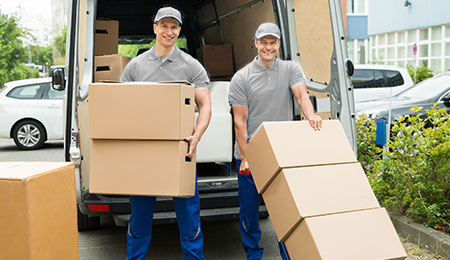 Two-Classic-Moves-Employees-Happily-Moving-Boxes